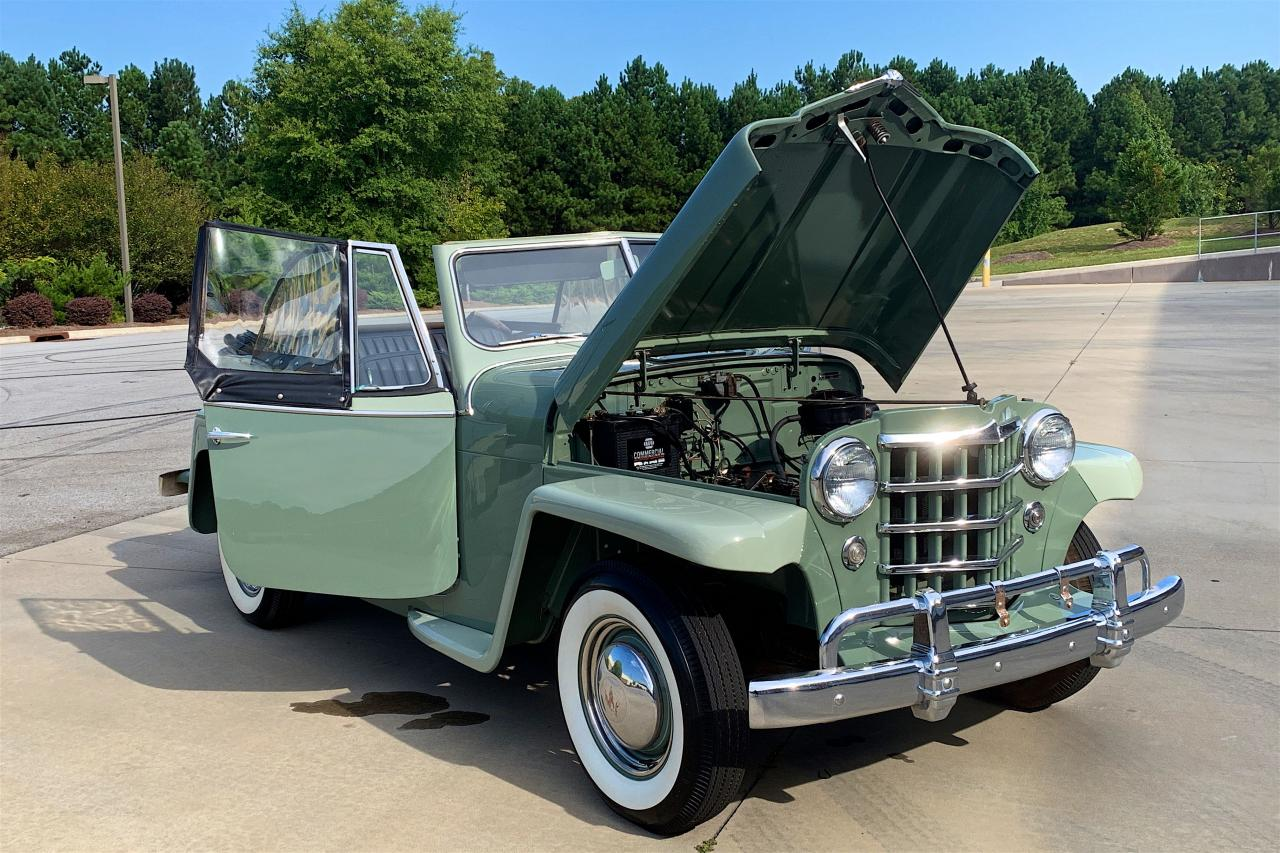 1950 Willys Jeepster 6