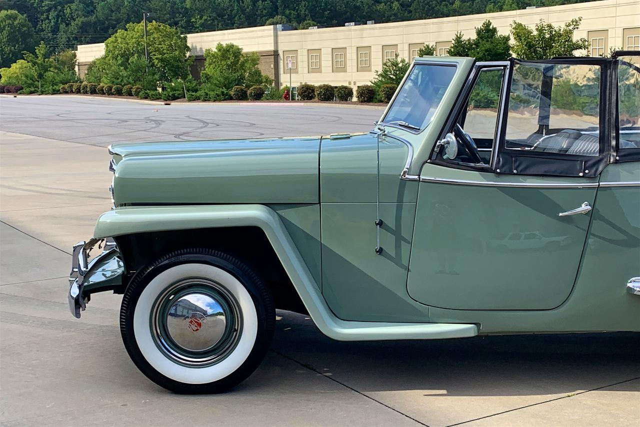 1950 Willys Jeepster 59