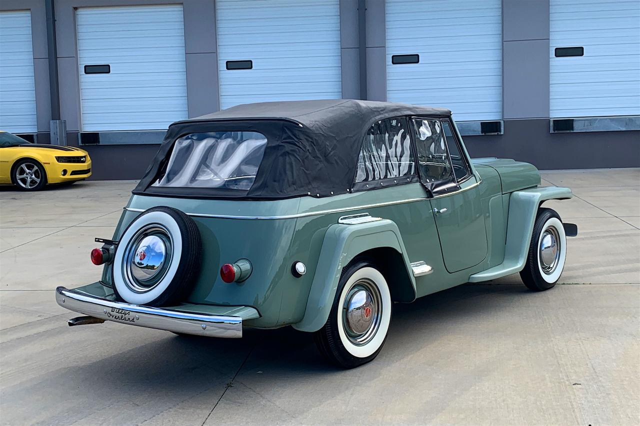 1950 Willys Jeepster 36