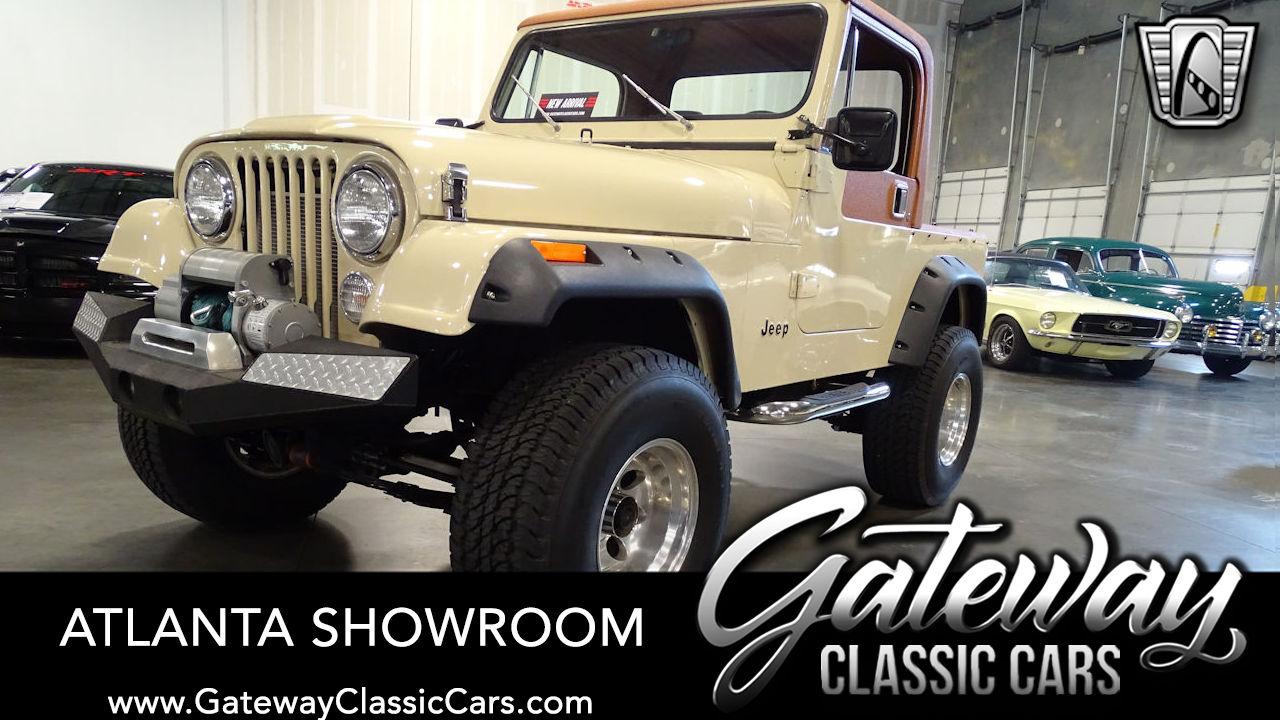 Used 1984 Jeep CJ7