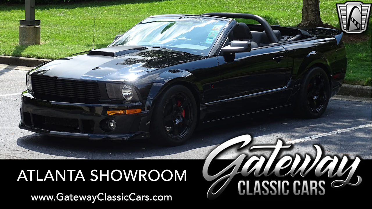 2008 Ford Mustang Roush Black Jack Edition