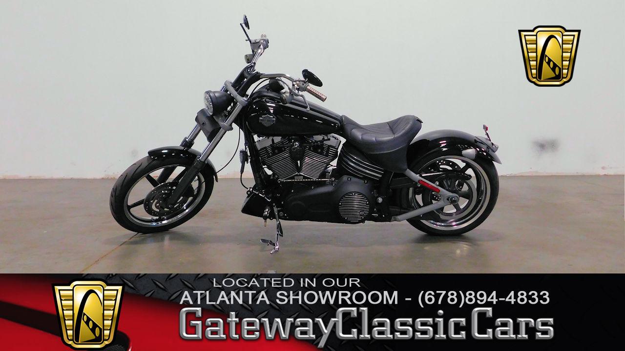 Used 2008 Harley Davidson FXCW