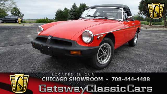 1979 MG MGB<br><span style='font-size: large; font-style: italic'><b>  </b></span>
