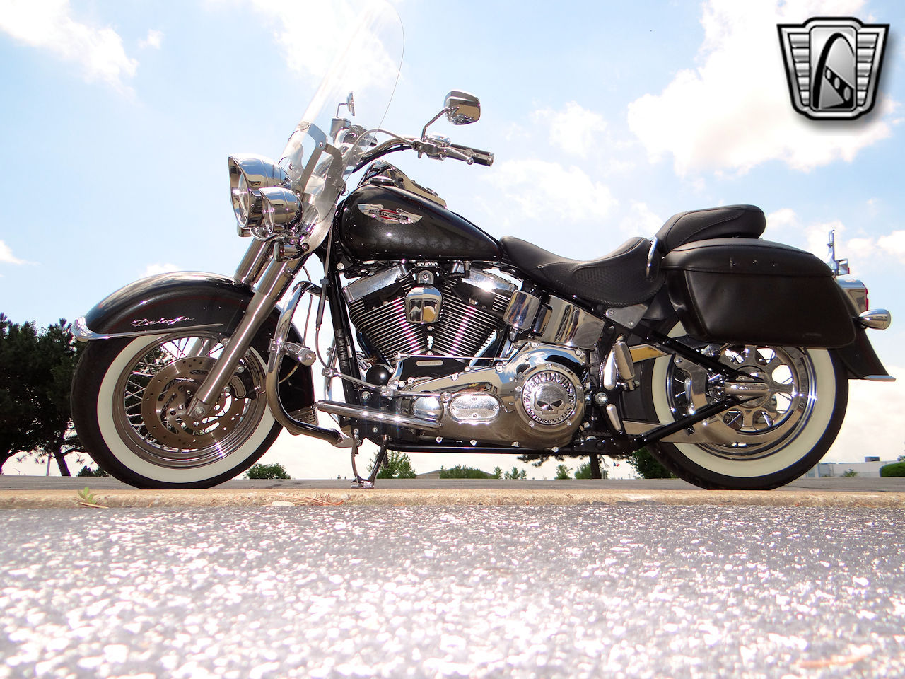 2006 Harley Davidson FLSTNI 8