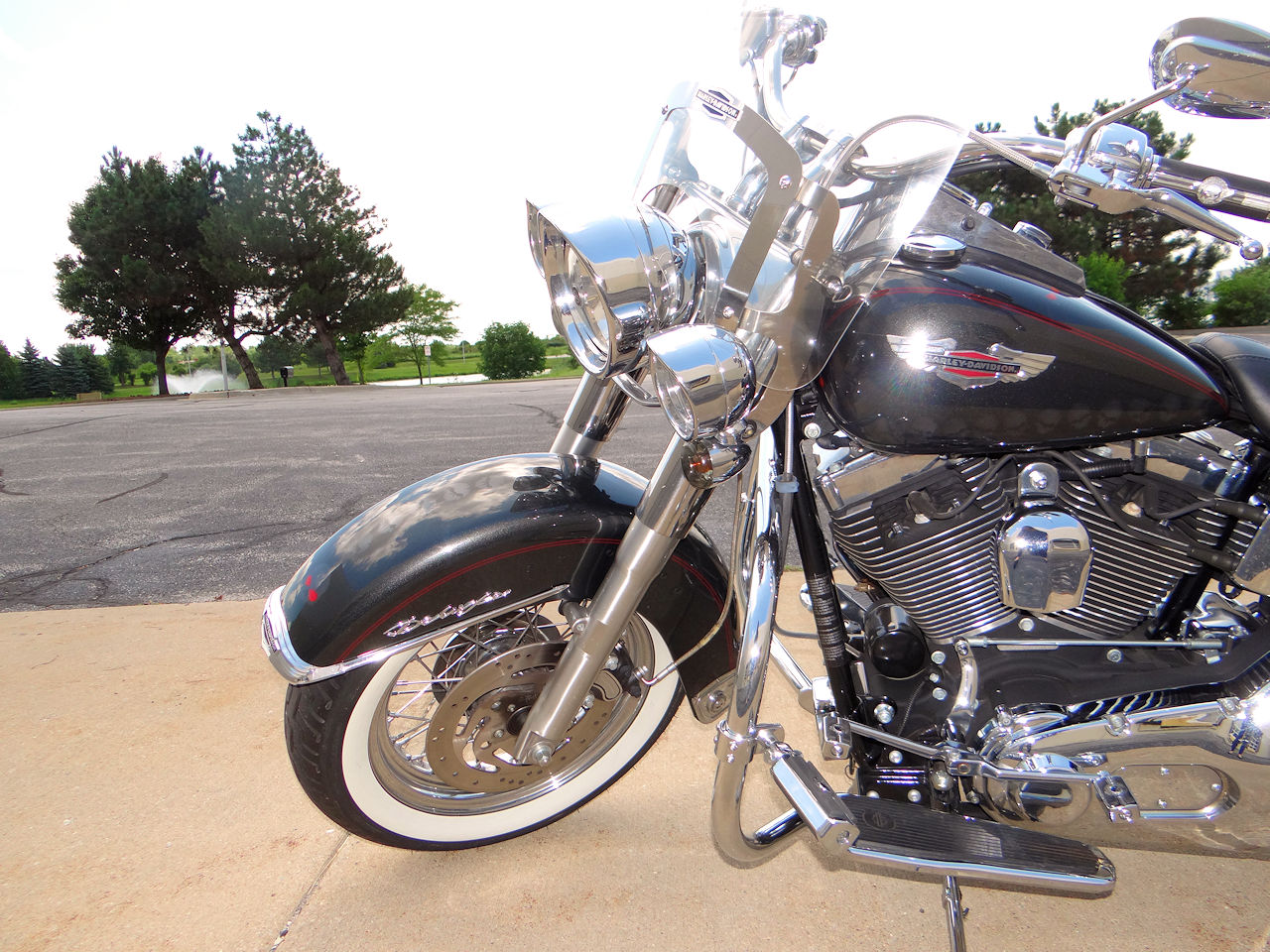 2006 Harley Davidson FLSTNI 18
