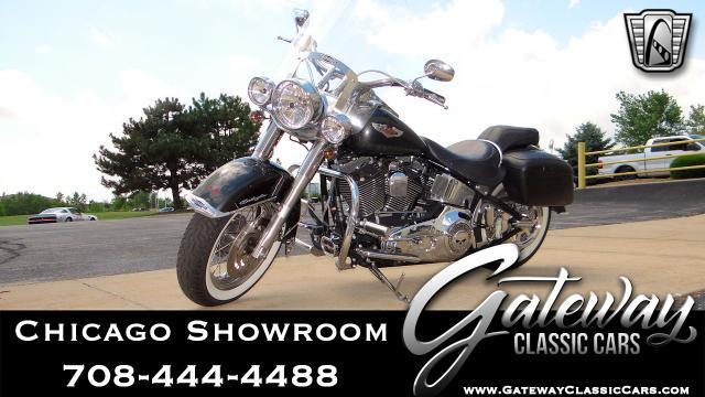 2006 Harley Davidson FLSTNI<br><span style='font-size: large; font-style: italic'><b>Softail Deluxe  </b></span>