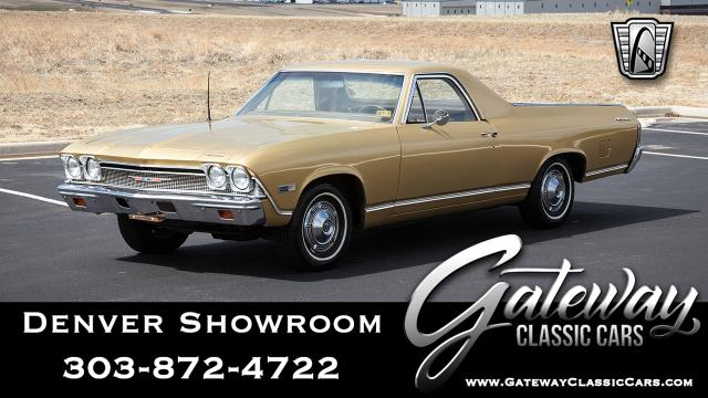 1968 Chevrolet El Camino<br><span style='font-size: large; font-style: italic'><b>  </b></span>