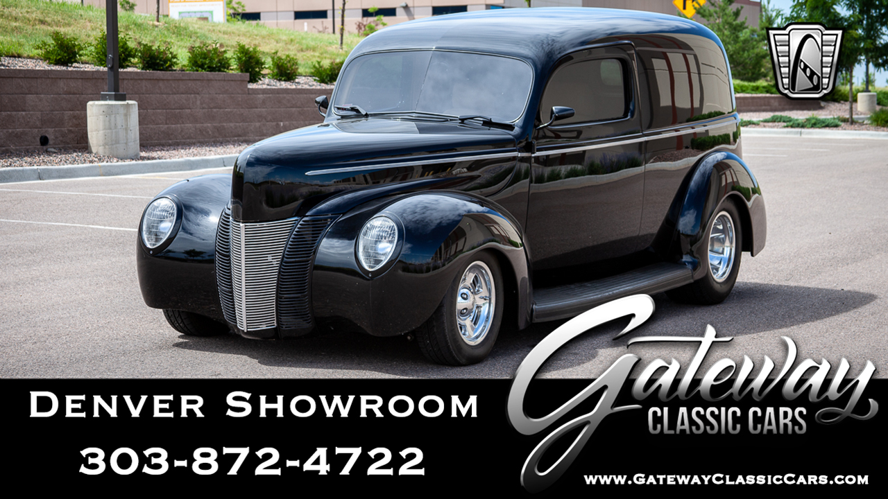 1940 Ford Sedan Delivery | Gateway Classic Cars | 566-DEN