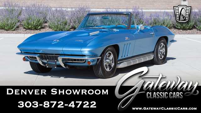 1966 Chevrolet Corvette<br><span style='font-size: large; font-style: italic'><b>  </b></span>