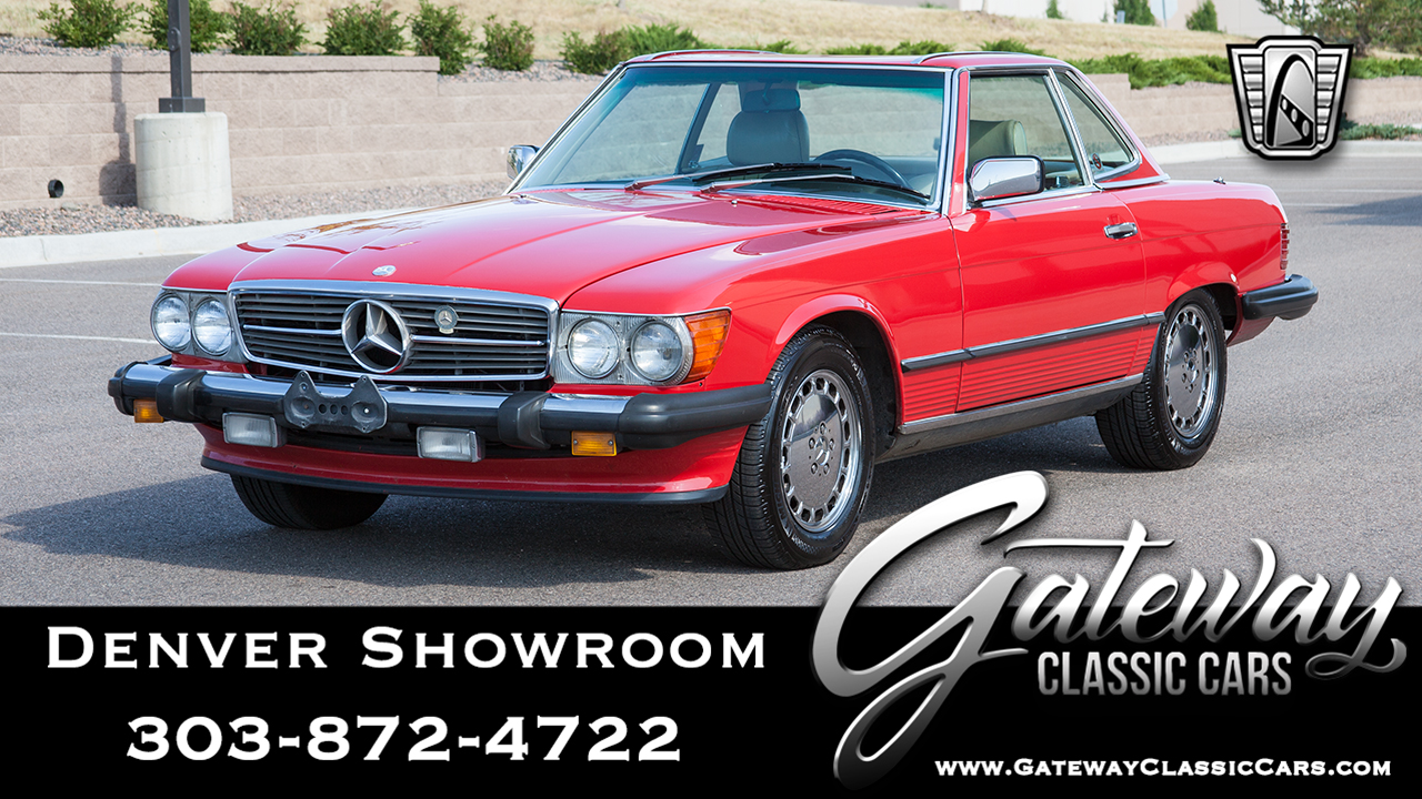Used 1989 Mercedes-Benz 560SL