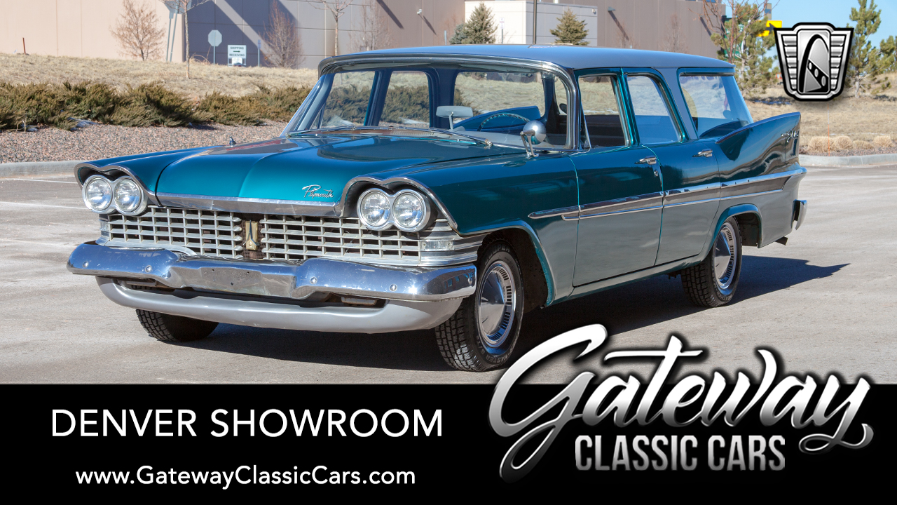 Used 1959 Plymouth Suburban