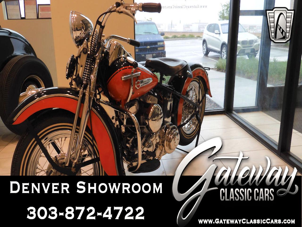 1950 Harley Davidson 50WL