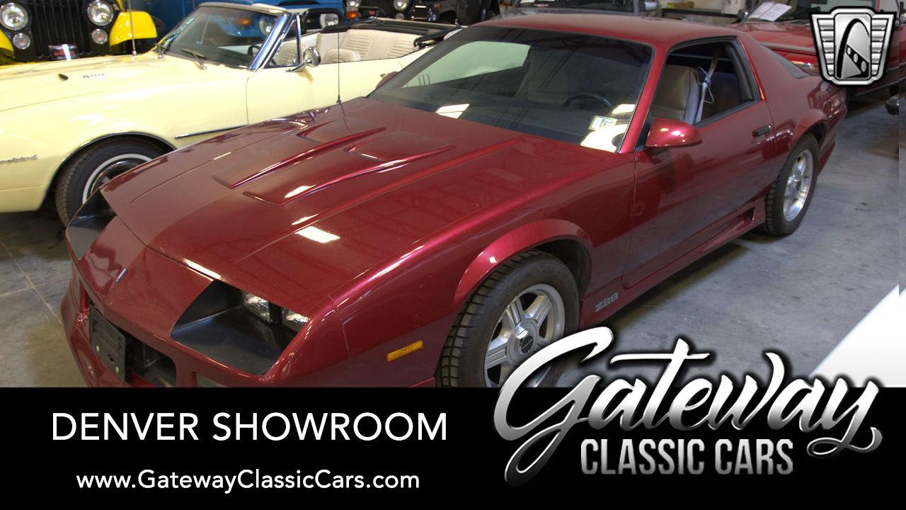 1991 Chevrolet CAMARO Z28 1LE