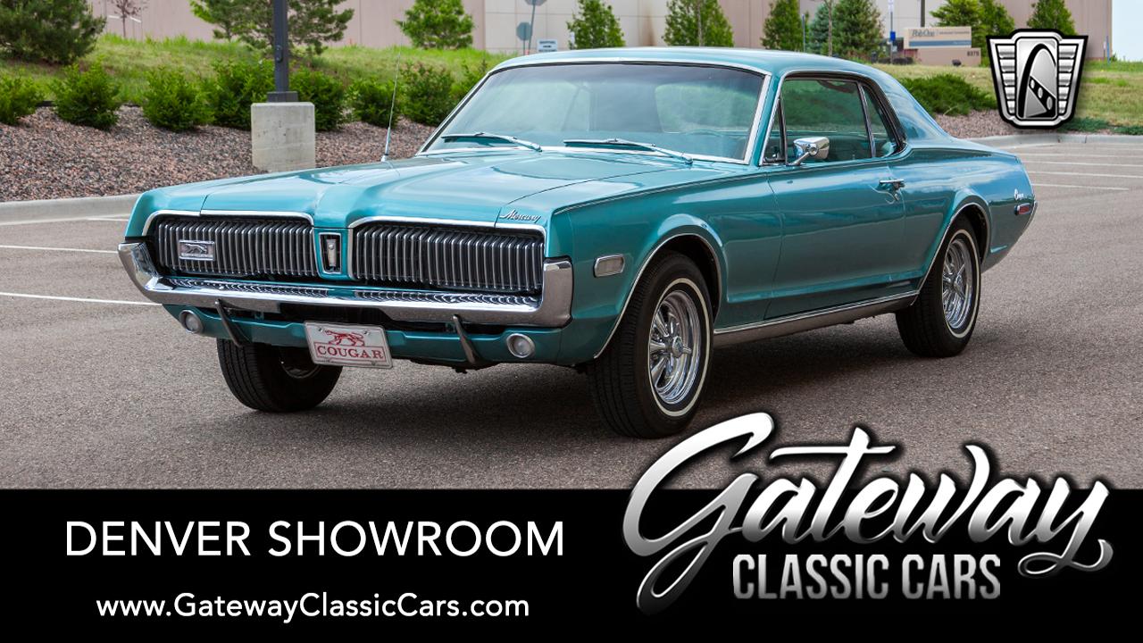 Used 1968 Mercury Cougar