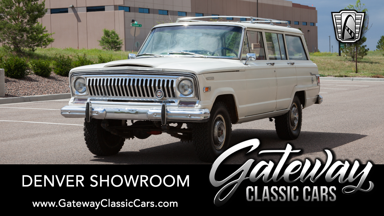 Used 1968 Jeep Wagoneer