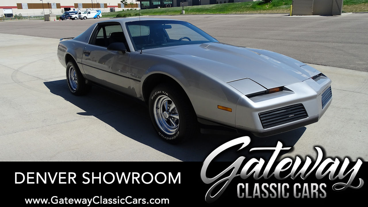 Used 1983 Pontiac Firebird Trans-Am