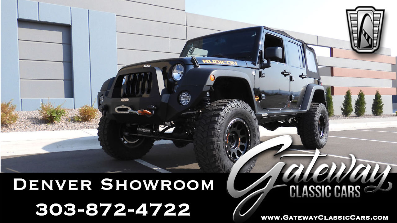 Used 2015 Jeep Wrangler Unlimited Rubicon