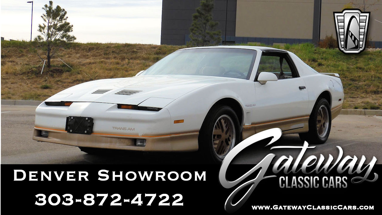 1985 Pontiac Firebird Trans-Am