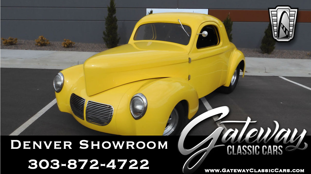 Used 1940 Willys Coupe