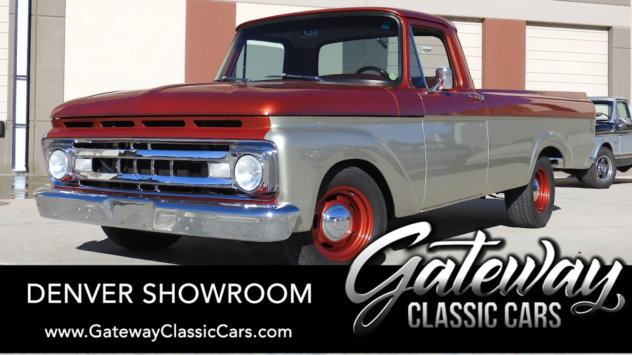 Used 1961 Ford F100
