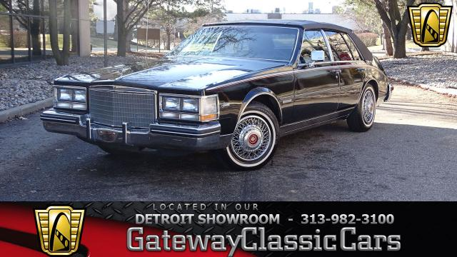 1983 Cadillac Seville<br><span style='font-size: large; font-style: italic'><b>  </b></span>