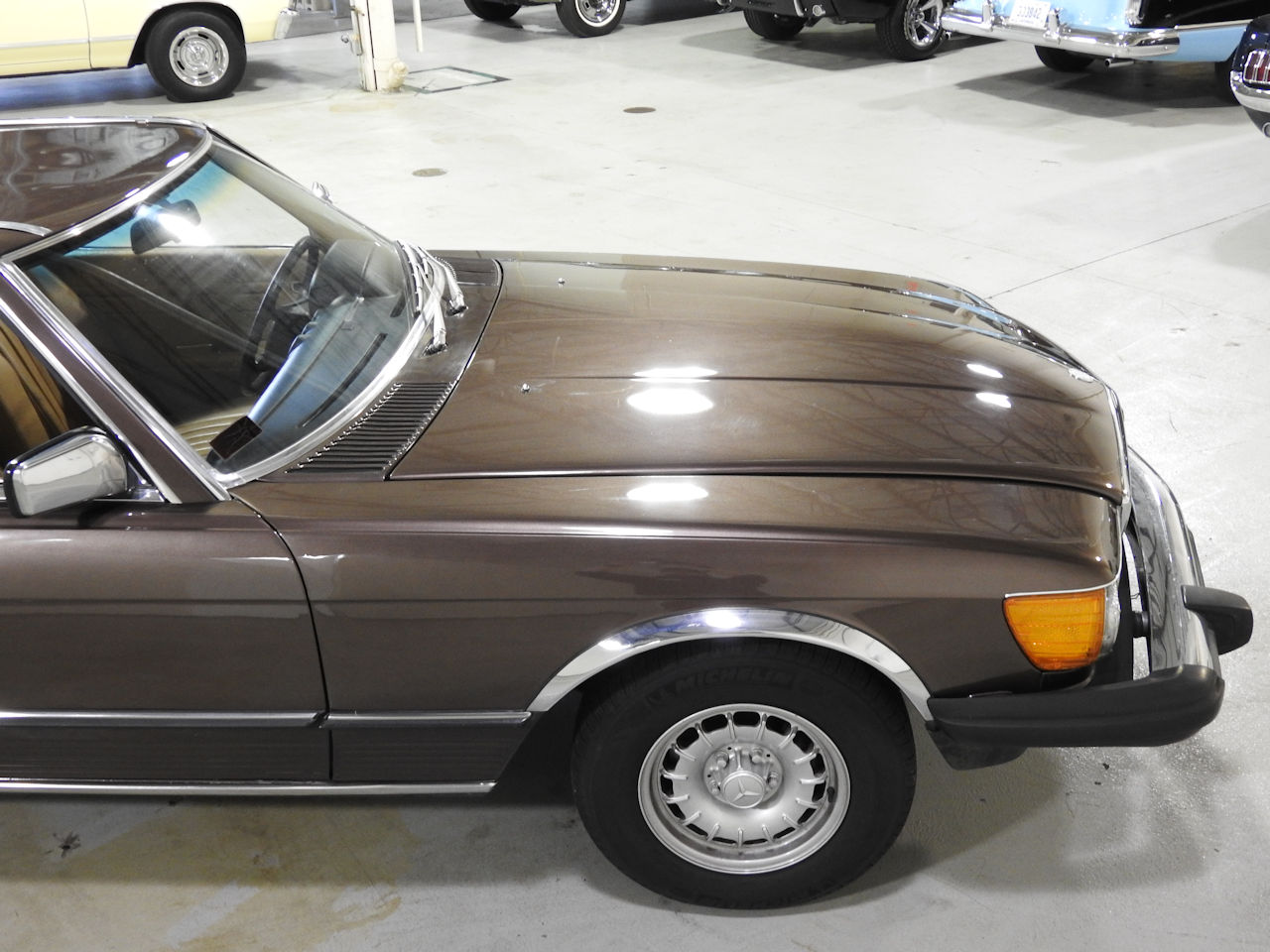 1982 Mercedes-Benz 380SL 21