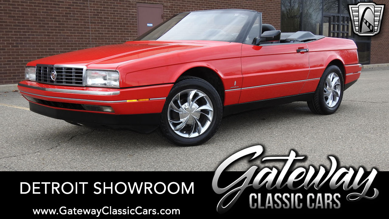 Used 1990 Cadillac Allante