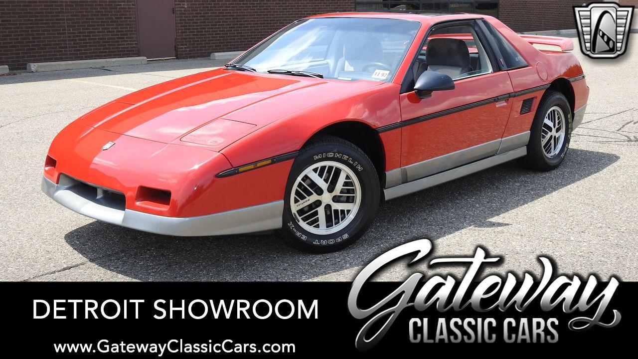 Used 1985 Pontiac Fiero