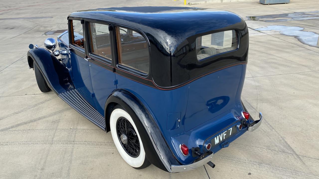 1937 Rolls Royce 25/30 4