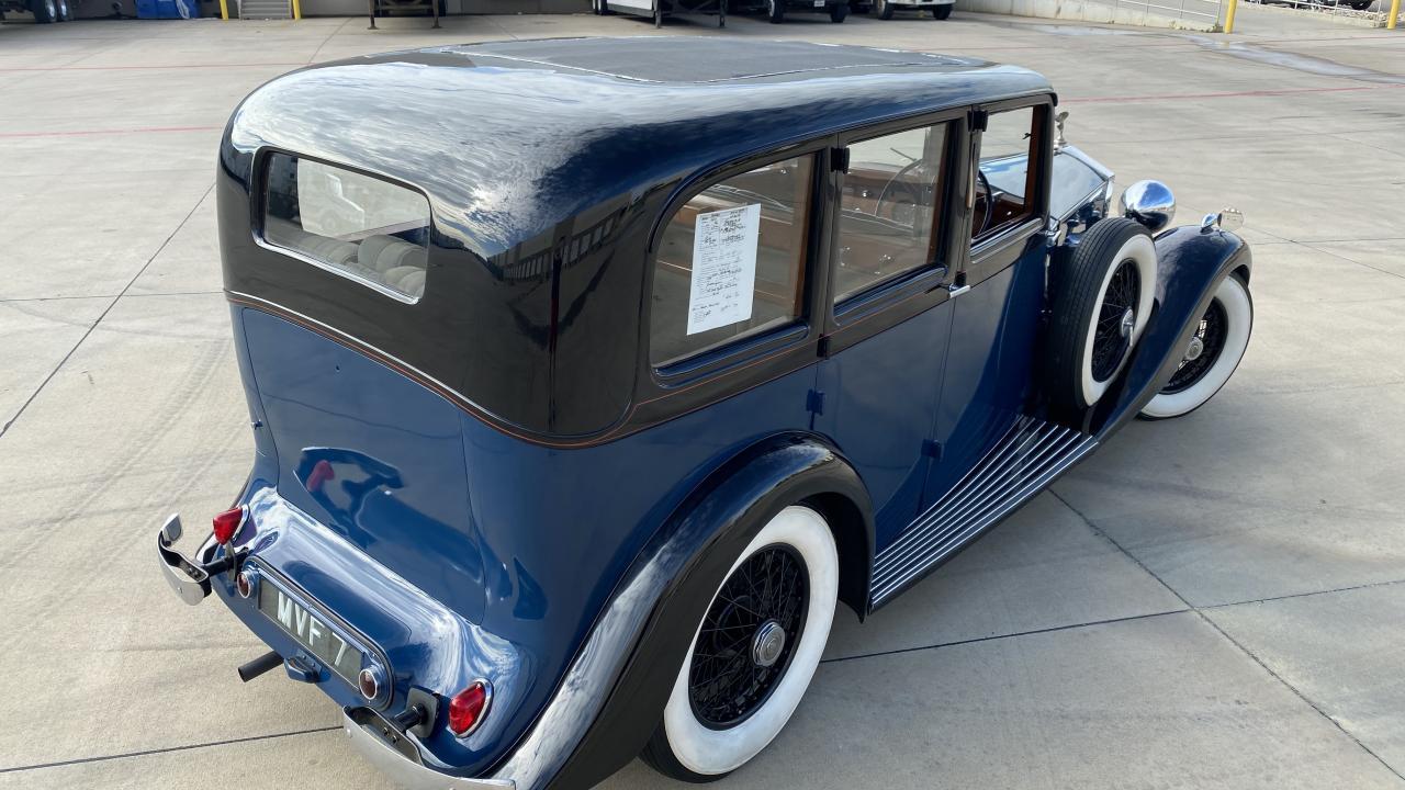 1937 Rolls Royce 25/30 8