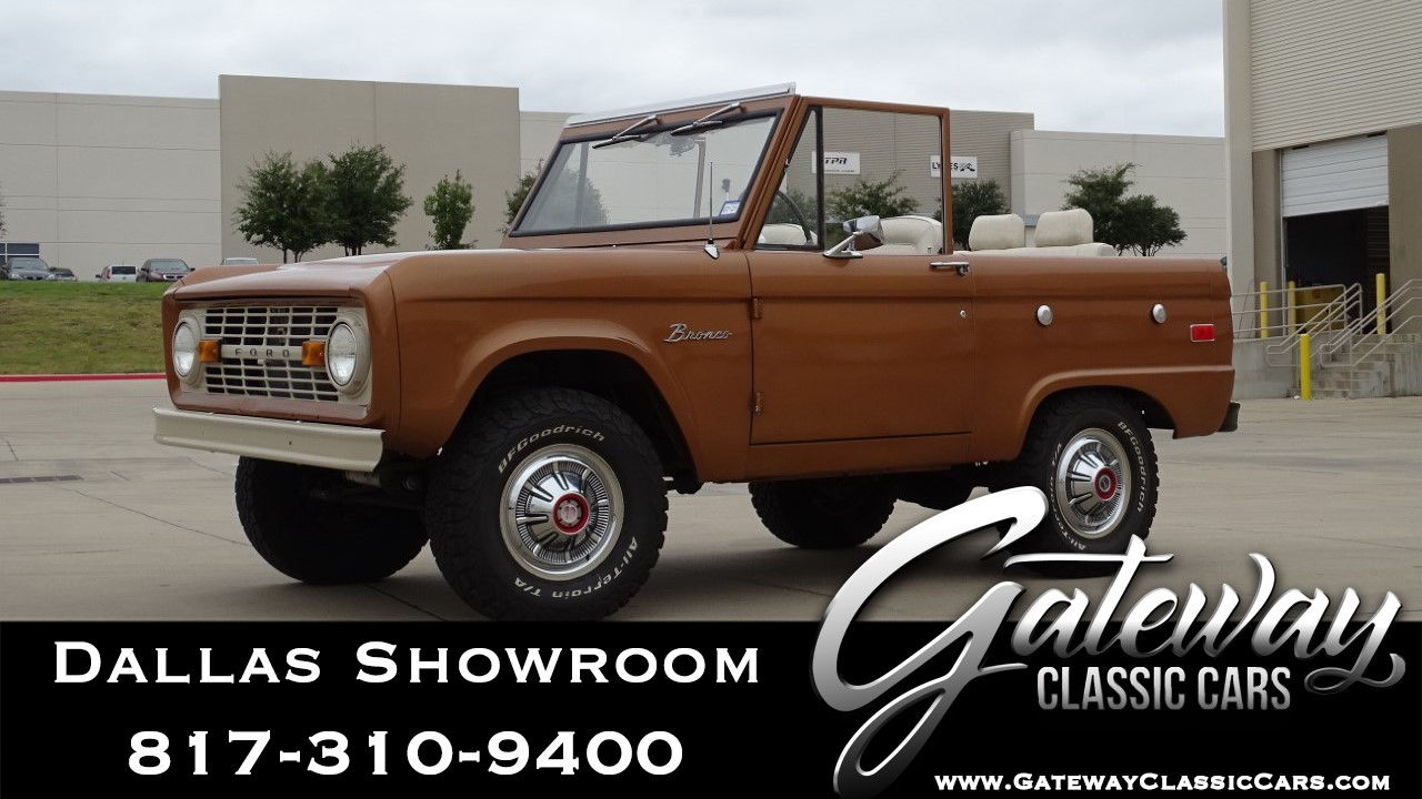 Used 1973 Ford Bronco