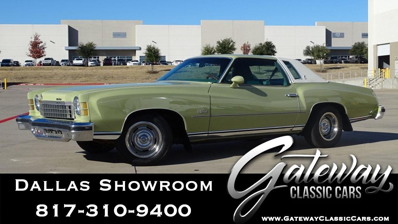 Used 1974 Chevrolet Monte Carlo
