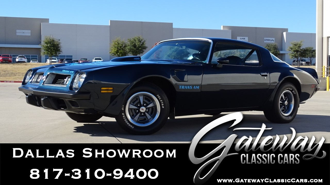 1975 Pontiac Firebird Trans-Am