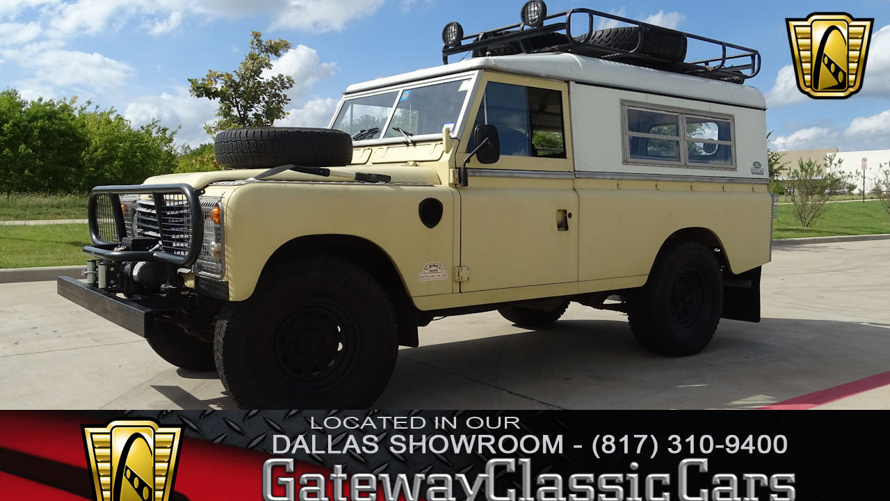 1983 Land Rover Stage 1 V8 Defender 110 Gateway Classic