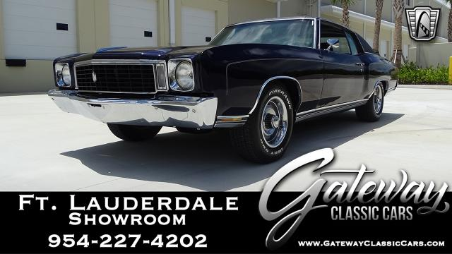 1972 Chevrolet Monte Carlo<br><span style='font-size: large; font-style: italic'><b>  </b></span>
