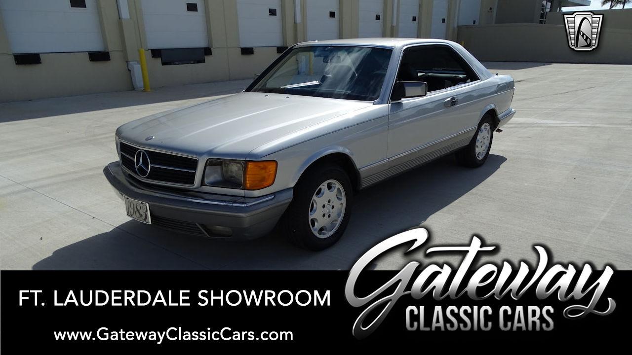 Used 1983 Mercedes-Benz 380SEC