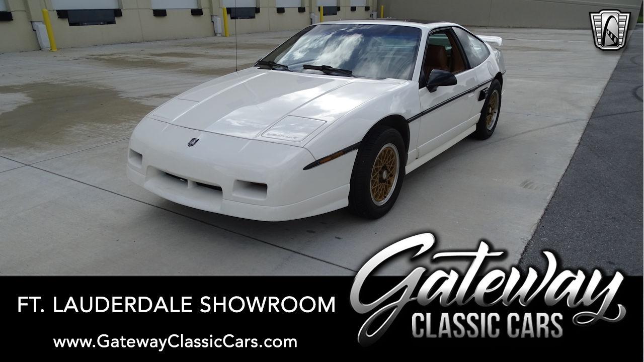 Used 1988 Pontiac Fiero