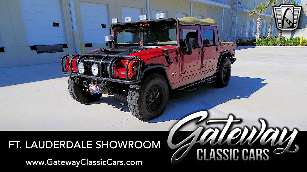 Used 1998 Hummer H1