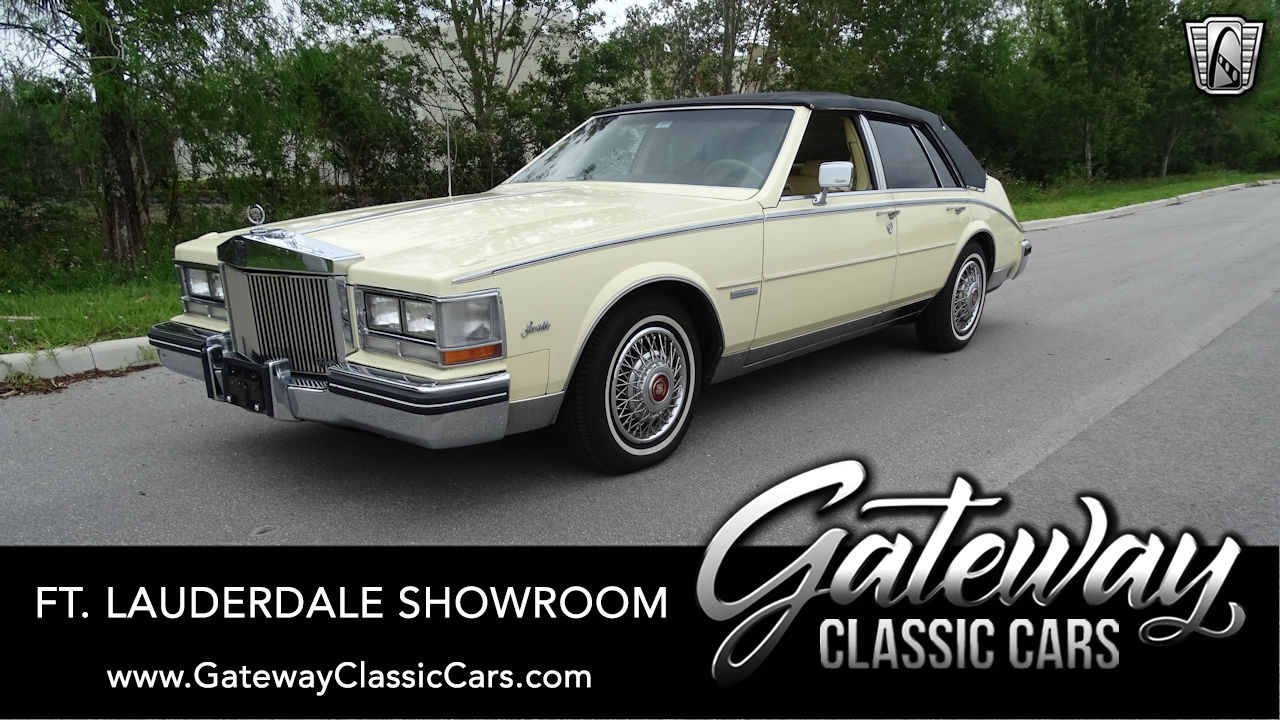 Used 1983 Cadillac Seville