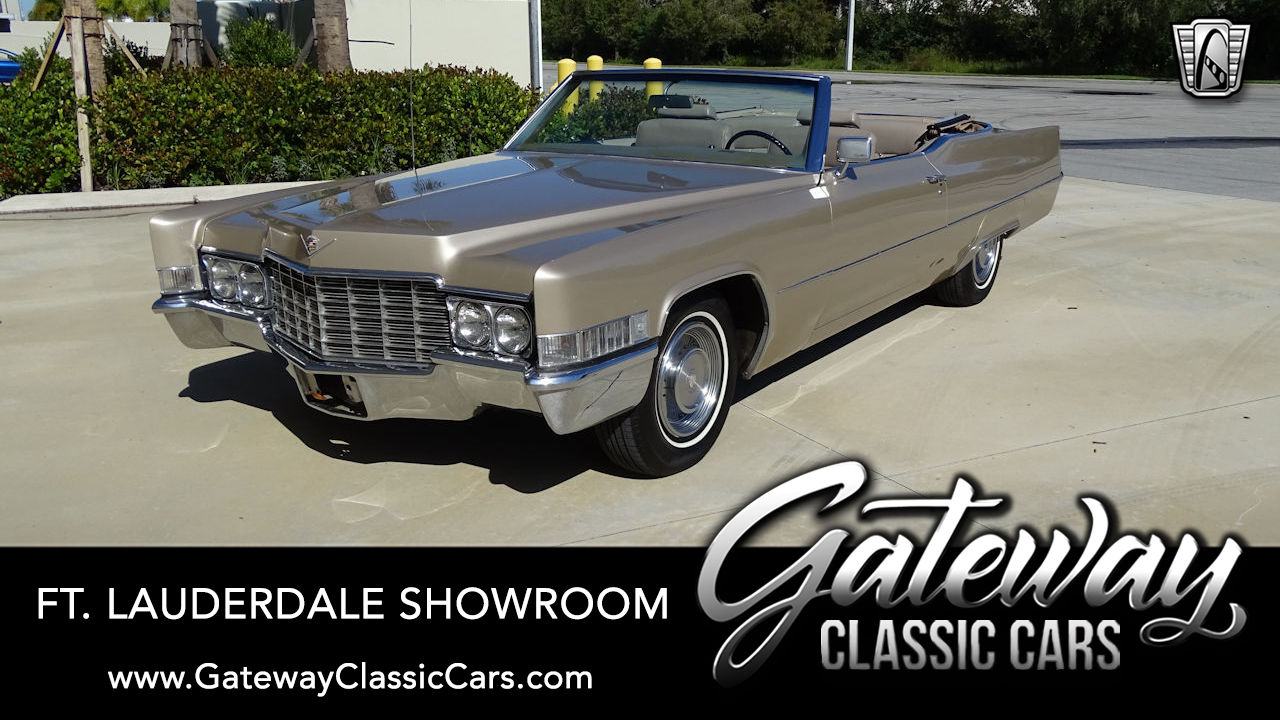 Used 1969 Cadillac DeVille