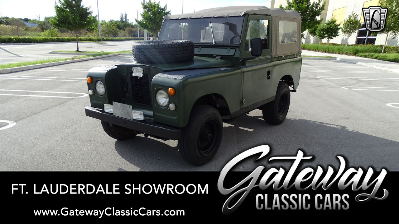 Used 1972 Land Rover Santana