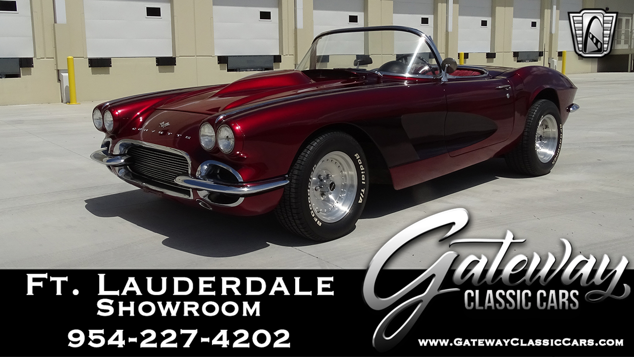 Magnificent 1961 Chevrolet Corvette Gateway Classic Cars 986 Ftl Download Free Architecture Designs Scobabritishbridgeorg