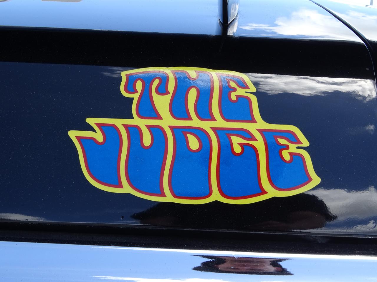 1970 Pontiac GTO 8