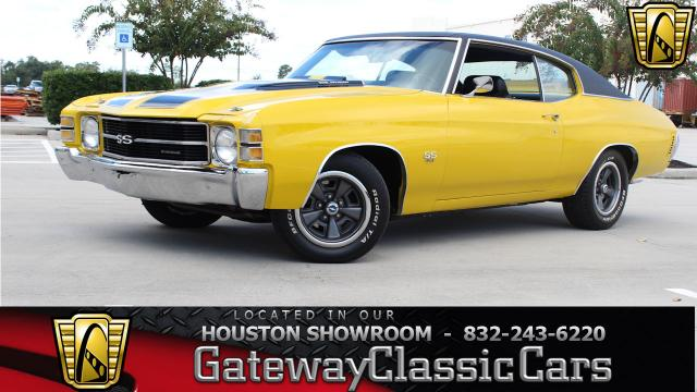 1971 Chevrolet Chevelle<br><span style='font-size: large; font-style: italic'><b>SS </b></span>