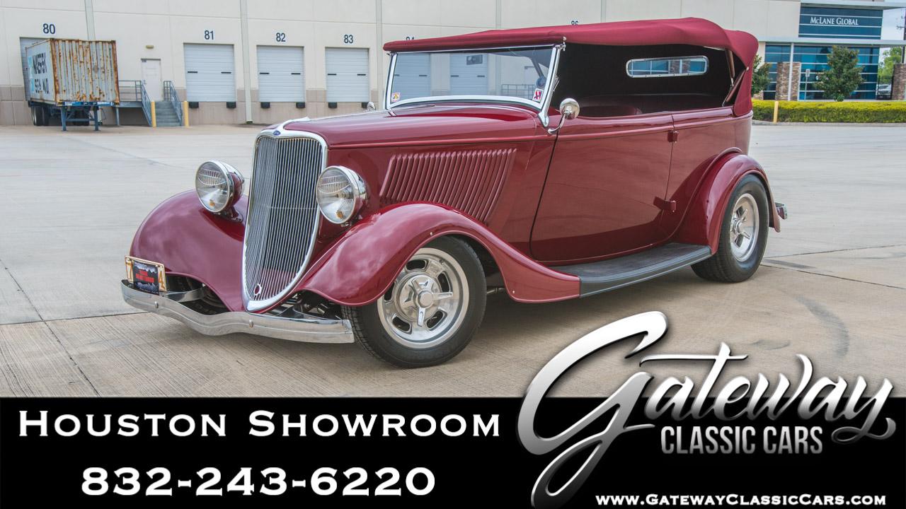 1933 Ford Phaeton