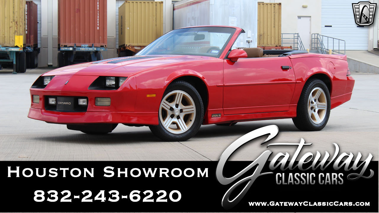 Used 1990 Chevrolet Camaro