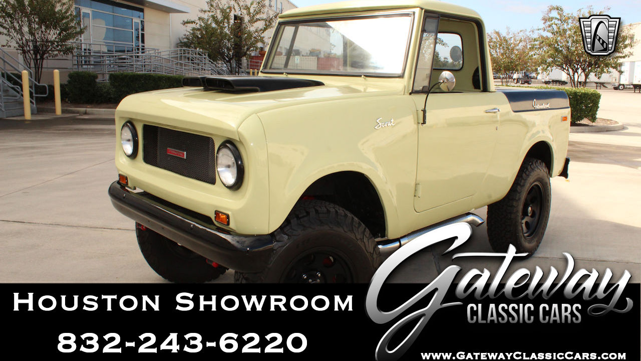 1965 International Scout 800