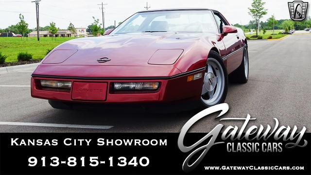 1988 Chevrolet Corvette<br><span style='font-size: large; font-style: italic'><b>  Callaway</b></span>