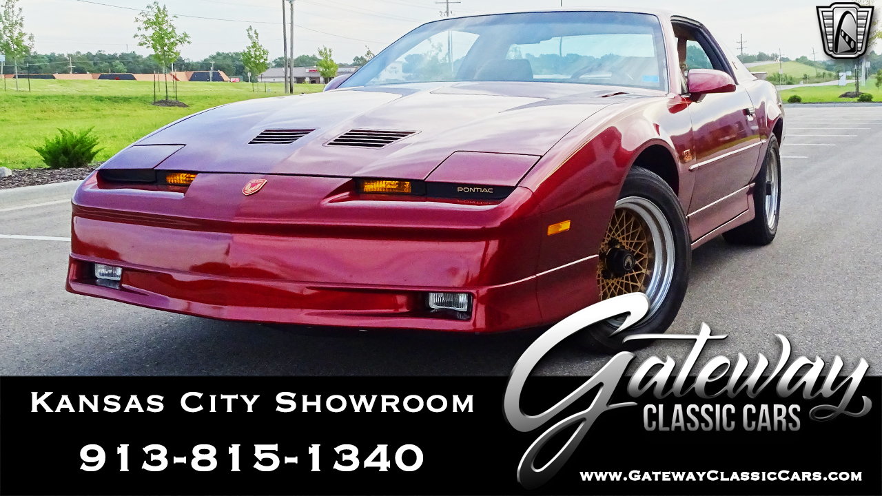 1987 Pontiac Firebird Trans-Am
