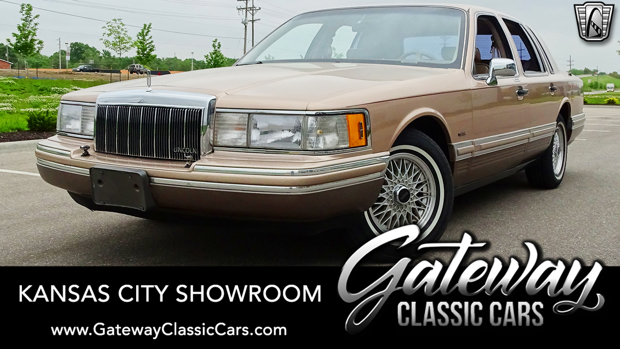Used 1992 Lincoln Town Car